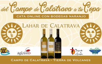 «Del Campo de Calatrava a tu Copa», Cata Online con Bodegas Naranjo