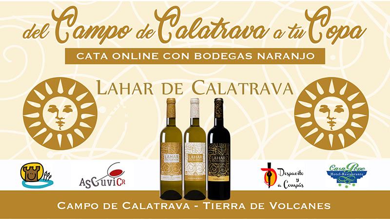 """Del Campo de Calatrava a tu Copa"", Cata Online con Bodegas Naranjo"