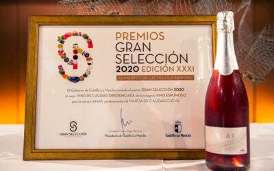 Lahar Rosado Premio Gran Selección al mejor vino espumoso de Castilla-La Mancha 2020
