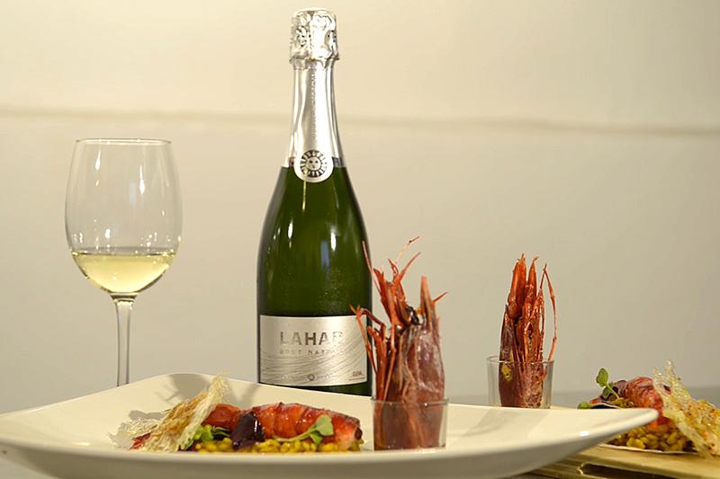 Vino y Gastronomía con Bodegas Naranjo. Julián Torres y Lahar Brut Nature