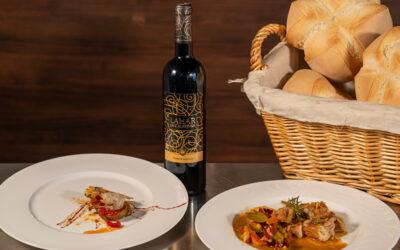 Vino y Gastronomía con Bodegas Naranjo. Pepe Crespo y Lahar de Calatrava Tempranillo