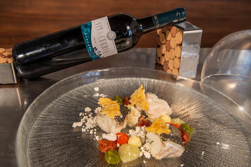 Vino y Gastronomía con Bodegas Naranjo. Diego Morales y Viña Cuerva Reserva
