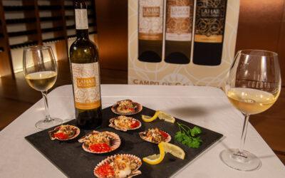 "Vino y Gastronomía con Bodegas Naranjo. Anselmo Baos ""Pelu"" y Lahar de Calatrava Sauvignon Blanc"