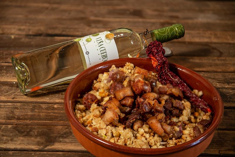 Vino y Gastronomía con Bodegas Naranjo. Serafín Delgado y Viña Cuerva Airén