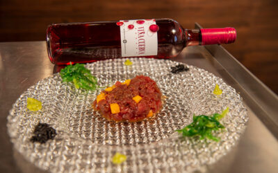 Vino y Gastronomía con Bodegas Naranjo. Diego Balmaseda y Viña Cuerva Rosado